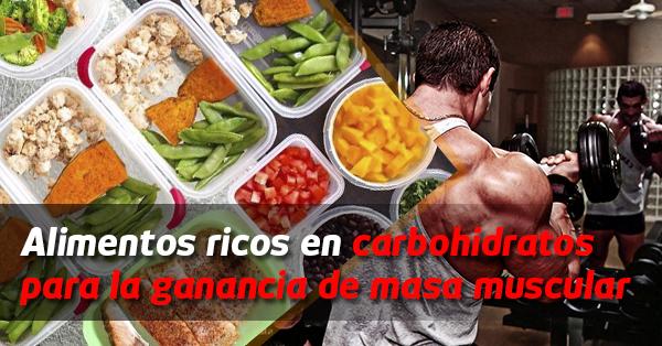 Alimentos ricos en carbohidratos para la ganancia de masa muscular - Alimentos ricos en carbohidratos ...