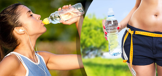 Beber agua adelgazar o engordar