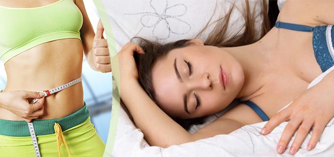 bajar de peso dormir