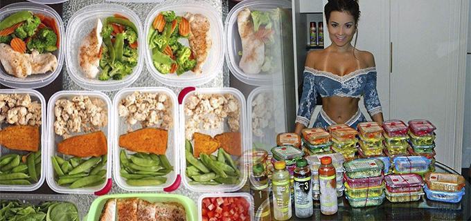 comer antes de las pesas