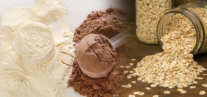 proteina y avena